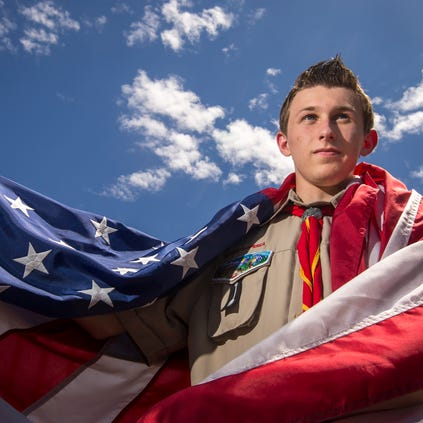Kyle Tucker, 16, wants to place a flagpole outside his high school in Avondale as part of his path to becoming an Eagle Scout. However, the project has stalled after the association in charge of the complex where his school is requested additional insurance to allow the flagpole.