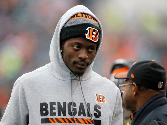 Injured Cincinnati Bengals cornerback Dre Kirkpatrick