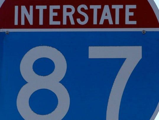 LH Roads: I-87 sign