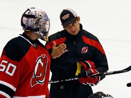 New Jersey Devils goaltending coach Chris Terreri talks