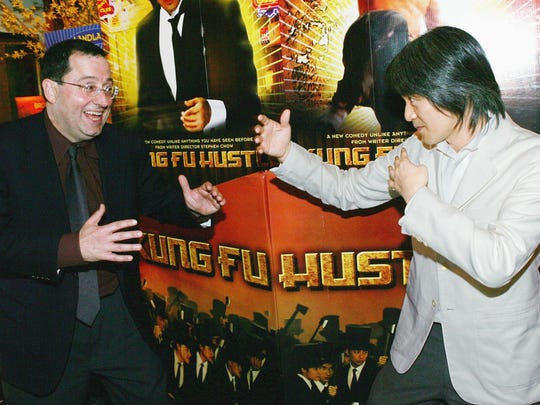 Stephen Chow (pictured right) wrote, directed and starred in 'Kung Fu Hustle.'