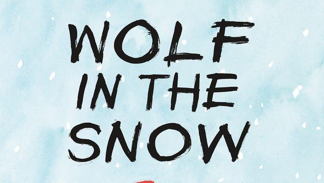 Award-winning 'Wolf in the Snow.'