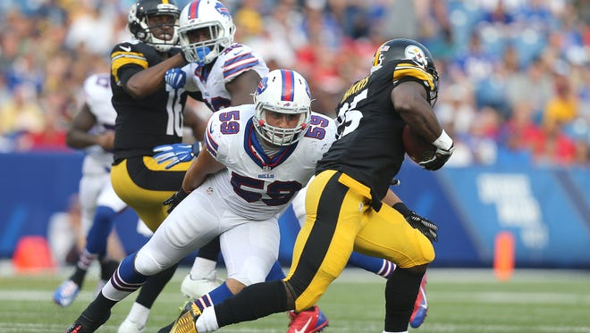 Bills linebacker AJ Tarpley is retiring at the age of 23. His decision continues a startling trend of more players using their heads and getting out before concussions take toll.