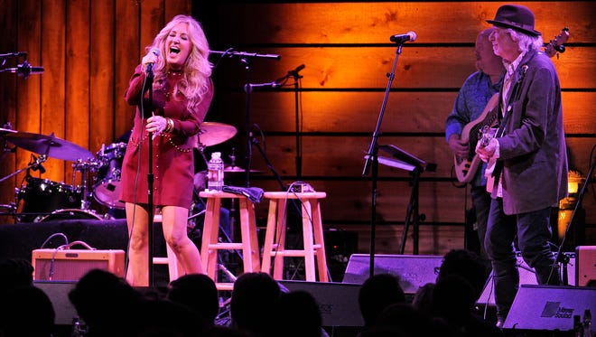 Lee Ann Womack and Buddy Miller perform at City Winery. Womack is nominated for two Americana Music Awards (Album of the Year and Artist of the Year).