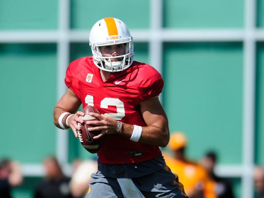 Tennessee's Quinten Dormandy (12) during Tennessee