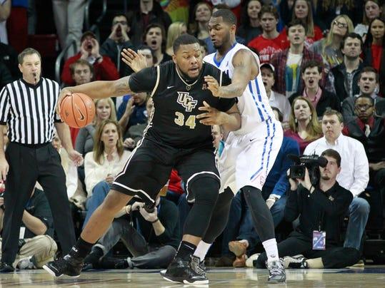 NCAA Basketball: Central Florida at Southern Methodist