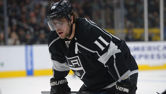 Los Angeles Kings center Anze Kopitar had 25 goals and 74 points this past season.