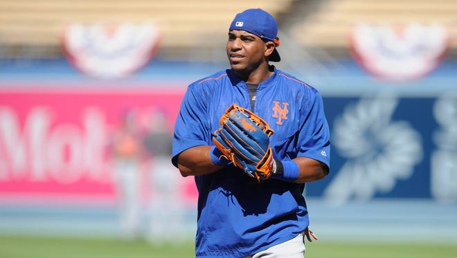 Yoenis Cespedes hit 17 homers and drove in 44 runs in 57 games with the Mets.