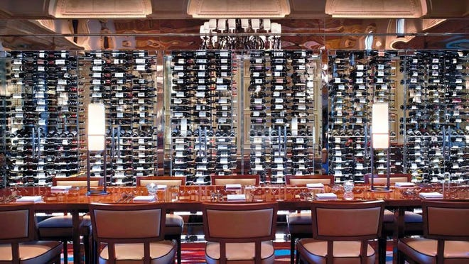 The Breakers' HMF, home to a 2,000-plus-bottle wine wall, received a 2019 Restaurant Award from Wine Spectator magazine.
