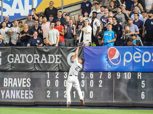 MLB: Atlanta Braves at New York Yankees