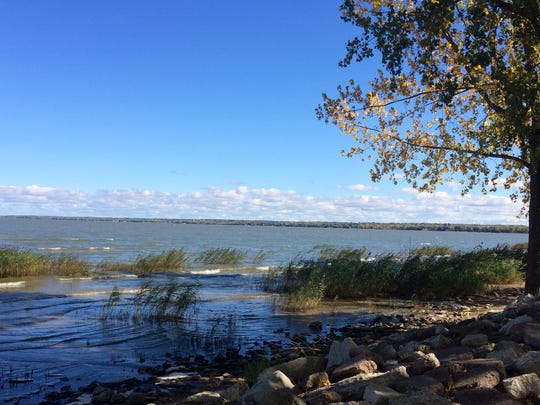 This area along the bay by Bay Beach Amusement Park could be a beach as the city of Green Bay looks into the idea.