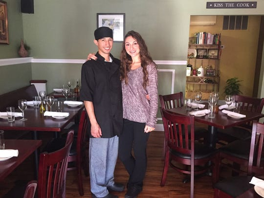 Christopher Atamian and Alexandria Mahon opened Porcini Italian Trattoria in Highlands in July.