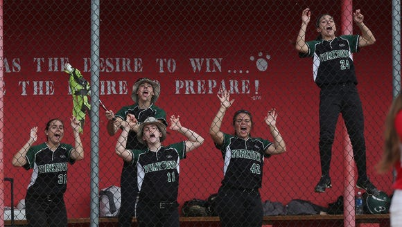 Yorktown defeated North Rockland 4-1 to win the Section