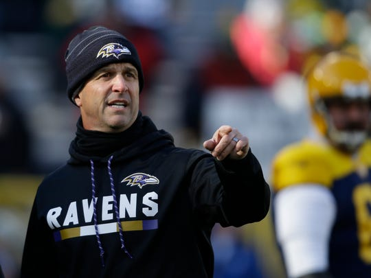 Head coach John Harbaugh has won a Super Bowl with the Baltimore Ravens, one of just three head coaches hired since 2008 to accomplish the feat.