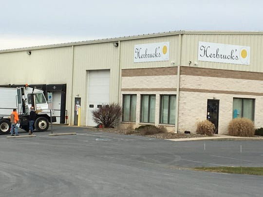 Herbruck's Poultry Ranch started shipping eggs in October 2017 from a warehouse in the Cumberland Valley Business Park.