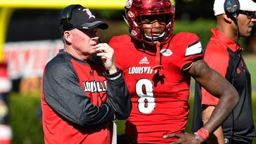 Jackson has 4 TDs, No. 7 Louisville routs NC State 54-13