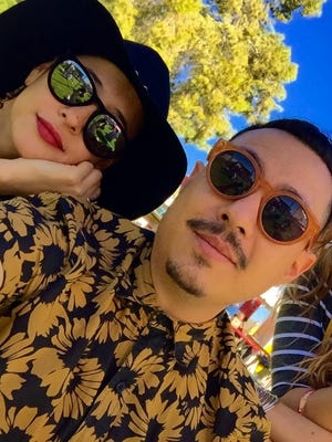 """Nuvia Enriquez and Eduardo Bernal launched online publication """"La Phoenikera"""" in March with Latino Millennials in mind."""