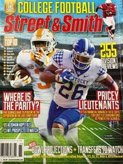 Tennessee running back Ty Chandler and Kentucky running back Benny Snell are on the cover of Street & Smith's College Football region cover.