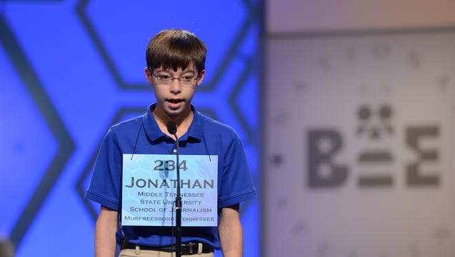 Hendersonville student Jonathan Caldwell made it to the sixth round of the Scripps National Spelling Bee in 2013.