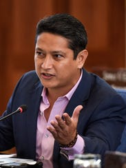 Sen. William Castro during a committee of the whole
