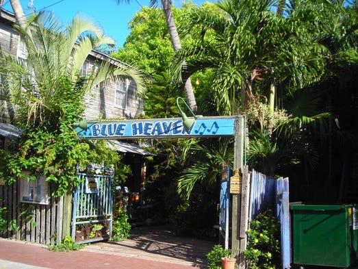 Blue Heaven Cafe Key West Florida