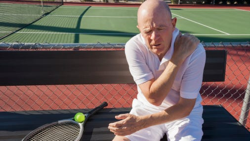 Athletes of all ages, particularly active seniors, are prone to rotator cuff injuries.