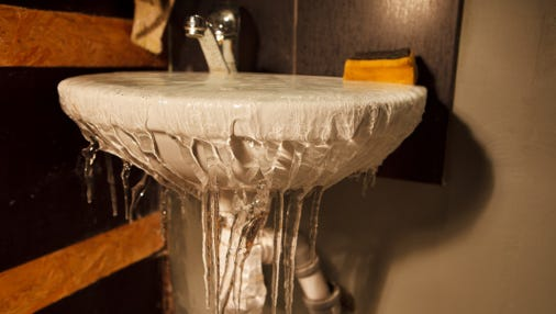 Take steps to prevent pipes from freezing.