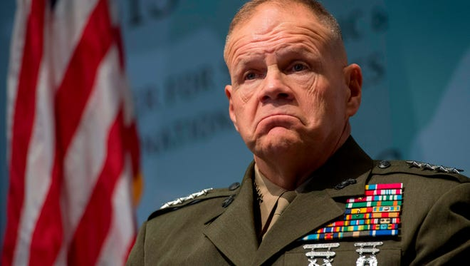 Gen. Robert Neller is commandant of the Marine Corps.