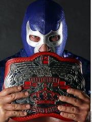Blue Demon Jr. cuenta con más de 30 años de trayectoria en la Lucha Libre.