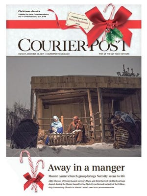 Courier-Post front page for Dec. 25, 2017