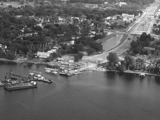 Construction begins on the Midpoint Memorial Bridge