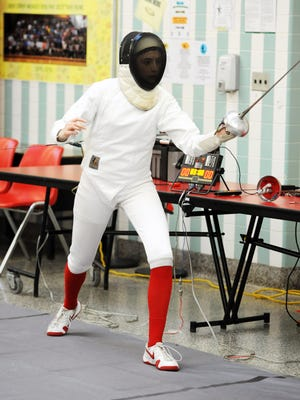 Lakeland's Nicole McHugh won the epee competition at this past weekend's District 4 Tournament at Fair Lawn High School. McHugh will compete in the state individual weapon championships on March 5 at Montgomery High School.