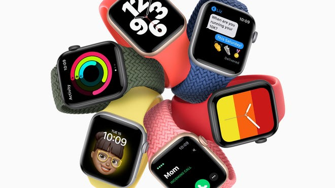 The budget-conscious Apple Watch SE. Photo