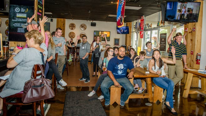 Suds & Science is held monthly at DAS Beer Garden in Abacoa, to bring patrons face to face with some of the most innovative researchers in the world.