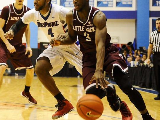 NCAA Basketball: Arkansas-Little Rock at DePaul