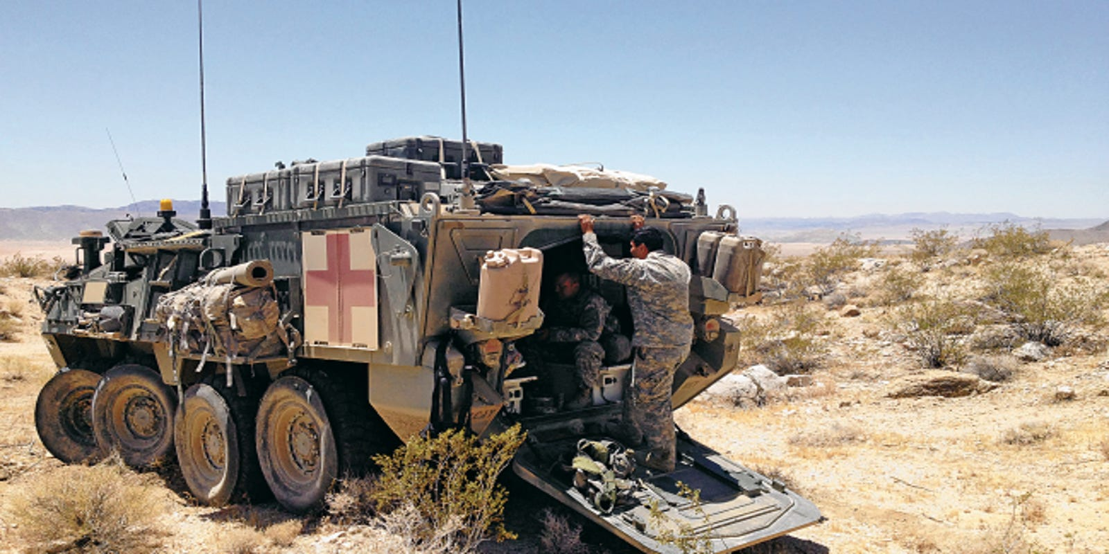 Spartan existence: Cavalry scouts get few luxuries, comforts