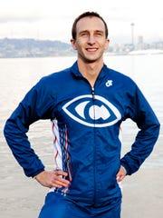 Aaron Scheidies has won a dozen ITU para-triathlons