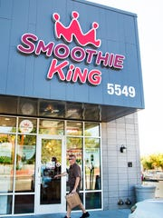 The Smoothie King store at 55th Street and Indian School Road in Phoenix is one of five Valley locations.