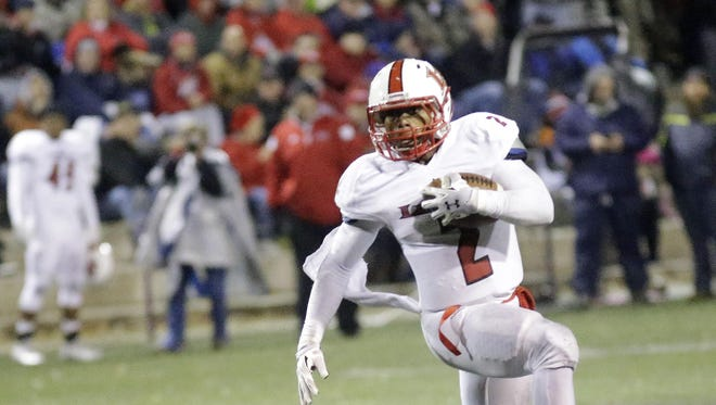 Jarell White and the La Salle Lancers are the top-rated team in the area's first Division II coaches' poll.