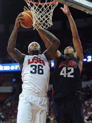 Anthony Davis and DeMarcus Cousins are the key big men for Team USA.