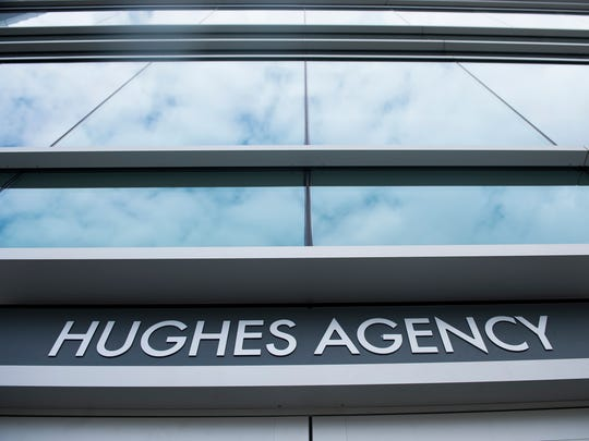 The Hughes Agency now occupies the ground floor of an office building at 110 E. Court St. in downtown Greenville.