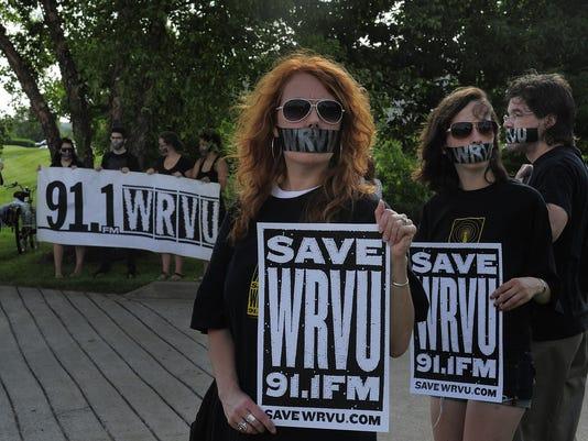 WRVU allies take silent stand