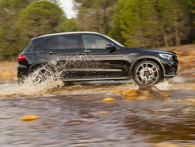 The 2017 Mercedes-AMG GLC43 is a performance SUV that