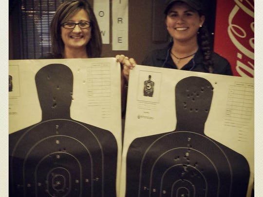 Courtney Free owns a Ruger LC9 for concealed carry,