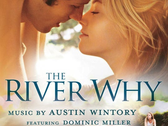"""The movie poster of """"The River Why,"""" a novel by David"""