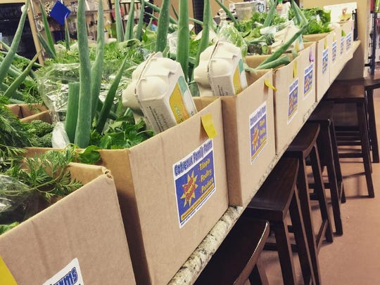 Gotreaux Family Farms offers weekly produce delivery