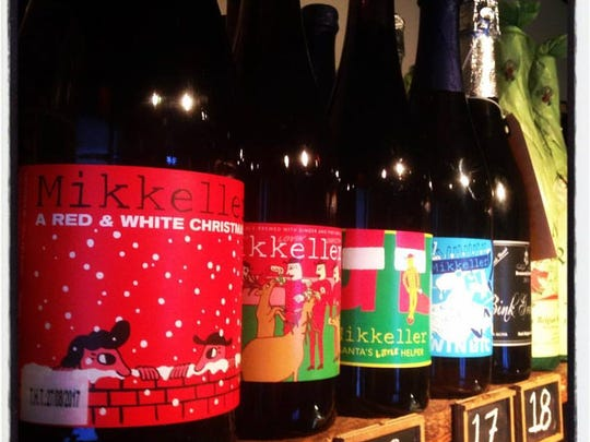 The Cheese Shop in Des Moines has a selection of holiday beers along with other food and wine gifts.