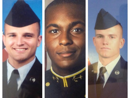 Parker Cauble, E.K. Binns and RC Cauble all chose military careers following graduation at Island Coast. Binn went to the Navy. The Cauble's went into the Air Force.