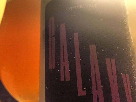 Other Half Brewing Galaxy IPA. This is a single hop India Pale Ale that features Galaxy hops.