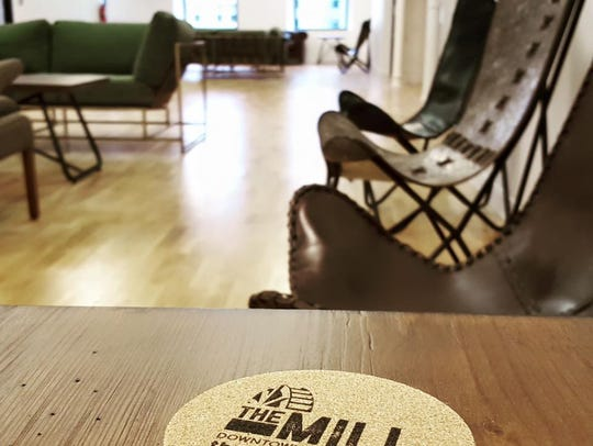 The first phase of The Mill coworking space opened
